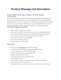 manager job description amitdhull co