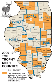 Illinois Map With Counties by 2015 Trophy Deer Forecast Illinois Game U0026 Fish
