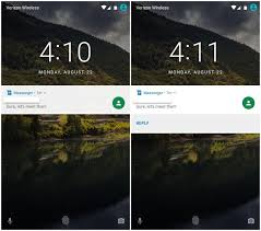 android lock screen notifications how to make the most of android nougat s new and improved