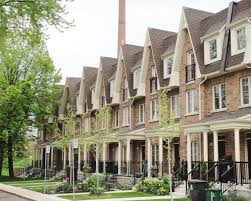 row homes simple row homes abound in toronto michael geller below expects