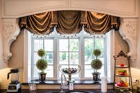 kitchen window treatments traditional kitchen chicago by