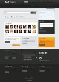 drupal themes latest tachyon best drupal theme for social networking or community