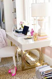 half closet half desk just bella gold and girly home office within desk remodel 9