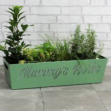 Window Sill Planter by Herb Box For Window Sill