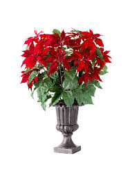 Light Up Topiary Balls - outdoor led battery operated poinsettia topiary balsam hill
