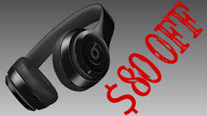 beats price on black friday beats solo3 headphones deal is 80 at amazon for black friday