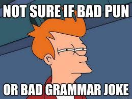 Bad Grammar Meme - zoidberg meme your jokes are bad