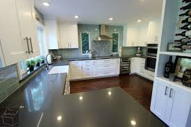 transitional style white cabinets kitchen remodel in trabuco