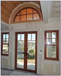 Out Swing Patio Doors Outswing Patio Doors With Blinds Patios Home Decorating Ideas