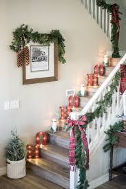 Staircase Decorating Ideas Wall Stairs Design Stairs Christmas Decorating Ideas Best Christmas