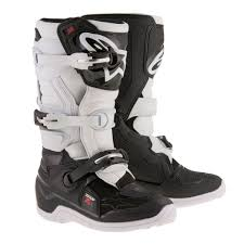 motocross boots 8 alpinestars racing tech 7s youth kids off road dirt bike junior