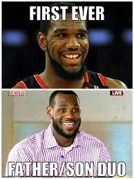 Father And Son Meme - lol miami heat have the first father son duo in nba history oden