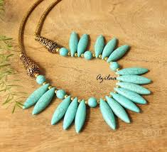 turquoise necklace designs images Turquoise necklace and earring set blue jewellery set online in jpg