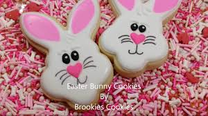 how to make easter bunnies for easter using royal icing youtube