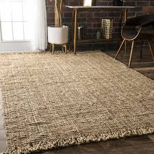 loop rugs amazonsmile nuloom collection chunky loop jute casuals