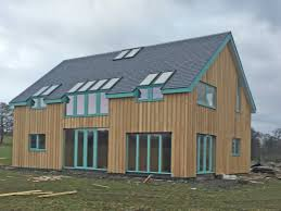 low energy self build sips house at tullymoran perthshire