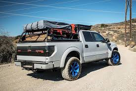 Ford F150 Truck Tent - ford raptor is now a 590 hp camping vehicle