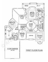 first floor in spanish spanish bay courtyard house plan texas style house plan