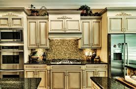 Glaze Kitchen Cabinets Painted Glazed Kitchen Cabinets Rapflava