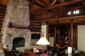 small log home interiors 27 log home interior decor lost creek cabin teton heritage builders