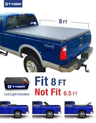 Ford F350 Truck Cover - amazon com tyger auto tg bc3f1025 tri fold truck bed tonneau