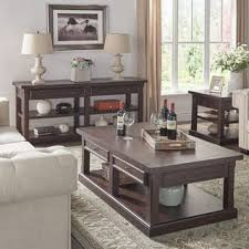 End Tables Sets For Living Room - table sets coffee console sofa u0026 end tables for less overstock com