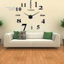 articles with 3d home decor quartz diy wall clock tag home decor
