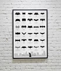 infographic evolution batman logo 194 design