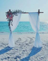 Wedding Trellis Flowers Beach Wedding Decoration Ideas Planned To Perfection
