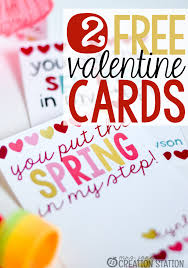 free valentines cards free valentines day card mrs jones creation station