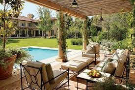 Patio And Outdoor Space Design Ideas Photos Architectural Digest - Italian backyard design