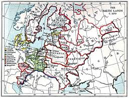 Baltic Sea Map Historical Maps Of Scandinavia