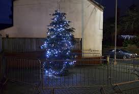 Christmas Tree Made Of Christmas Lights - tyldesley residents slam town u0027s christmas lights display made up