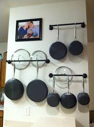 Kitchen Hanging Pot Rack by How To Choose The Right Rack For Hanging Pots And Pans Pan Rack