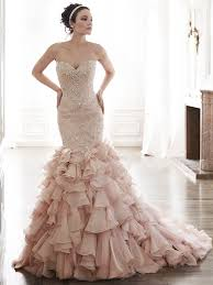 colorful wedding dresses add some color 19 stunning colored wedding dresses everafterguide