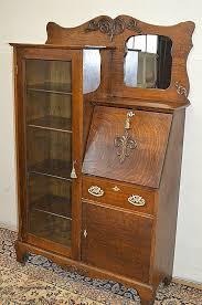 antique drop front secretary desk with hutch luxury larkin antique 1900 s drop front tiger oak