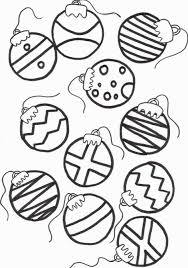 christmas ornament outline printable modern numbers exterior