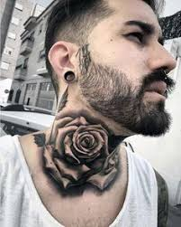 top 40 best neck tattoos for manly designs and ideas