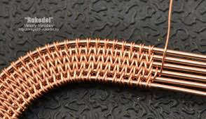 wire woven bracelet images Advanced copper wire woven jewelry tutorial inspirations the JPG