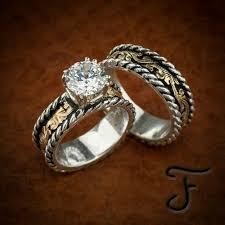 country wedding rings western wedding ring sets kubiyige info