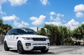 land rover svr white stormtrooper white range rover sport by ultimate auto gtspirit