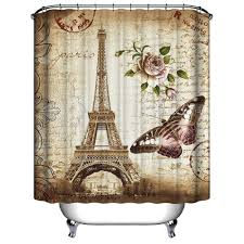 Eiffel Tower Decoration Amazon Com Uphome 72 X 72 Inch Retro Vintage Paris Eiffel Tower