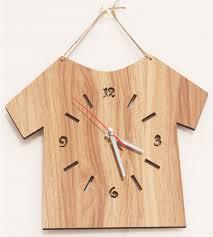 Home Decor Clocks New Simple Type Wooden Wall Clocks Modern Design Home Decor Clock
