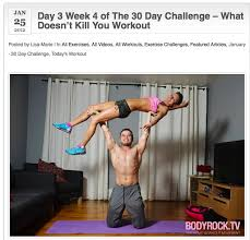 Can Challenge Kill You 50 Best January 30 Day Challenge Images On Exercises