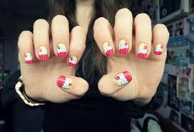 35 cute cupcake nail art design ideas for trendy girls pinterest