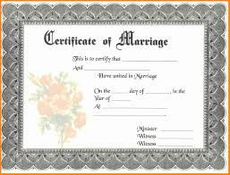 Marriage Resume Pdf 9 Blank Marriage Certificate Pdf Cover Title Page