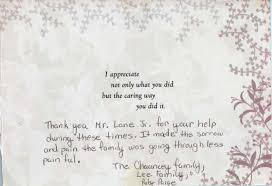 funeral thank you notes paul funeral home inc in jamaica ny testimonials paul
