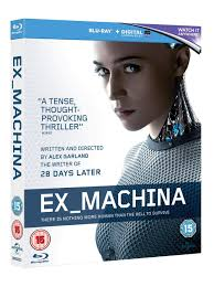 director of ex machina amazon com ex machina blu ray 2015 domhnall gleeson oscar