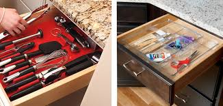 kitchen drawer storage ideas unique ideas for using kitchen drawer organizers improvements