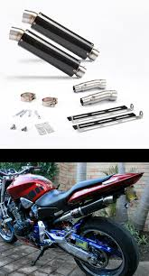 honda hornet 900 danmoto gp carbon exhaust honda hornet 900 all years ex107 ebay